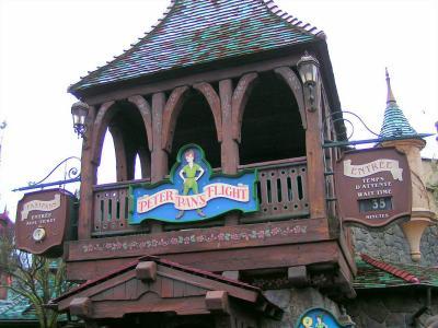 Fantasyland 8ème attraction peter pan s flight